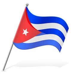 Flag of Cuba vector