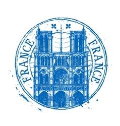 france logo design template shabstamp vector image