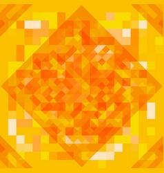 futuristic style geometric pattern vector image