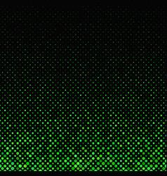 green geometric dot pattern background - design vector image