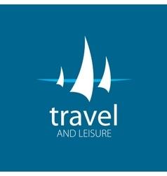 logo Yacht vector image