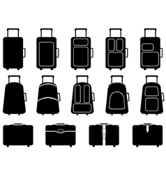 Luggage vector image