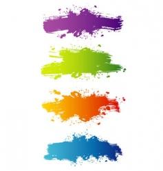 blot color vector image vector image