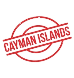 Cayman Islands rubber stamp vector image