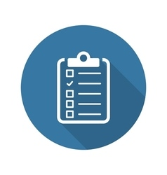 Health Tests and Medical Services Icon Flat vector