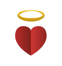 holy heart love vector image