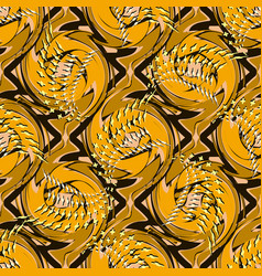 inreicate bright abstract seamless pattern vector image