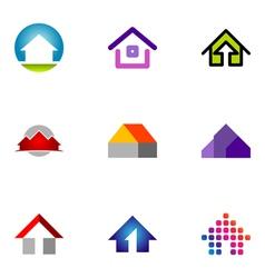 logo design elements set 55 vector image