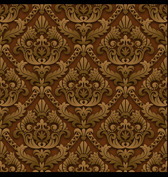 brown vintage background vector image vector image
