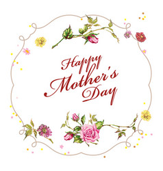 Background for mothers day vector
