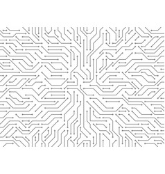 circuit board background electronic vector image