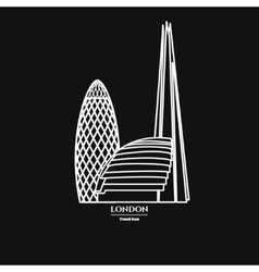 London Icon Outline 1 vector