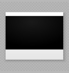 Photo frame for internet sharing vector