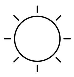 Sun 01 vector