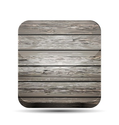 Wooden texture icons vector image