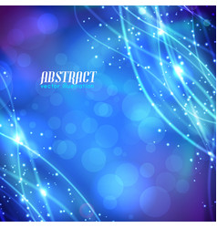 Abstract background with glittering fibres vector