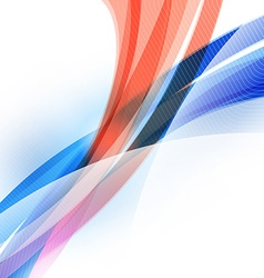Abstract Colorful Futuristic Wave Background Blue vector