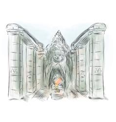 Angkor thom vector