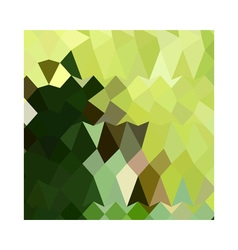 Apple Green Abstract Low Polygon Background vector