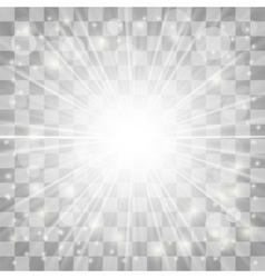 Blurred Sun Rays vector