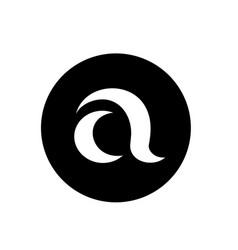 Letter a logo design logo template and icon vector