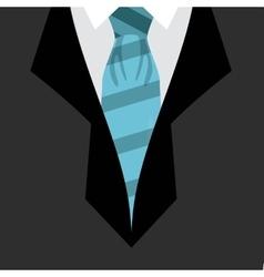 Man suit design vector