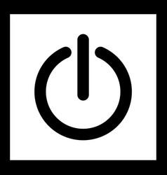 Shutdown icon vector