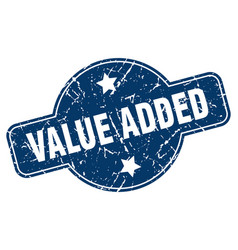 Value added sign vector