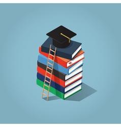 Education Degree vector image