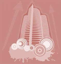 city buildings vector image