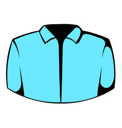 dress shirt icon icon cartoon vector image