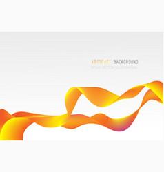 Abstract geometric background fluid shape vector