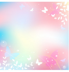 abstract spring summer background in light pink vector image