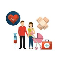 Family health care design vector