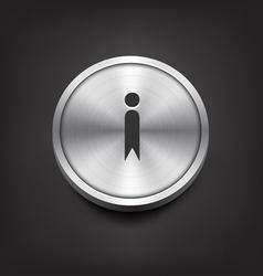 Metal Information Icon vector