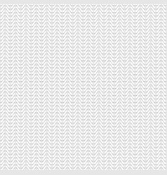seamless texture of white knitted fabric canvas vector image