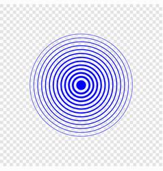 sonar search sound vector image
