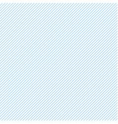 Thin blue diagonal stripes on white vector