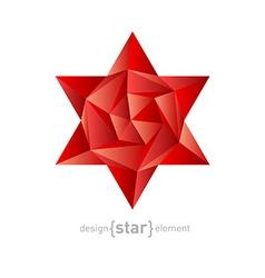 luxury crystal flower vector image vector image