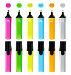 highlighter vector image vector image