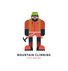 Mountaineer logo vector