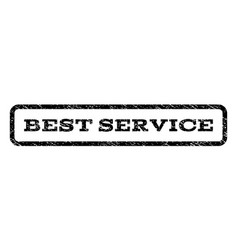Best service watermark stamp vector
