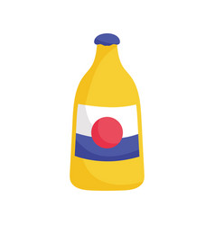 bottle drink beverage mexico icon vector image
