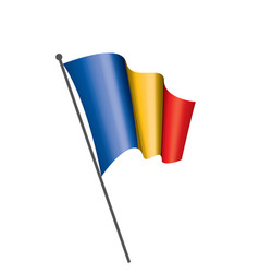 chad flag vector image