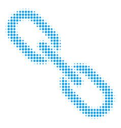 chain halftone icon vector image