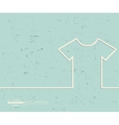 Creative tee shirt Art vector image