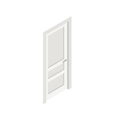 door isometric icon vector image