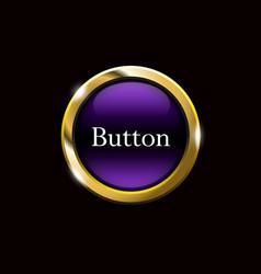 purple webdesign template vector image