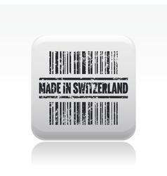Swiss icon vector