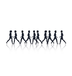 A group of people design vector image